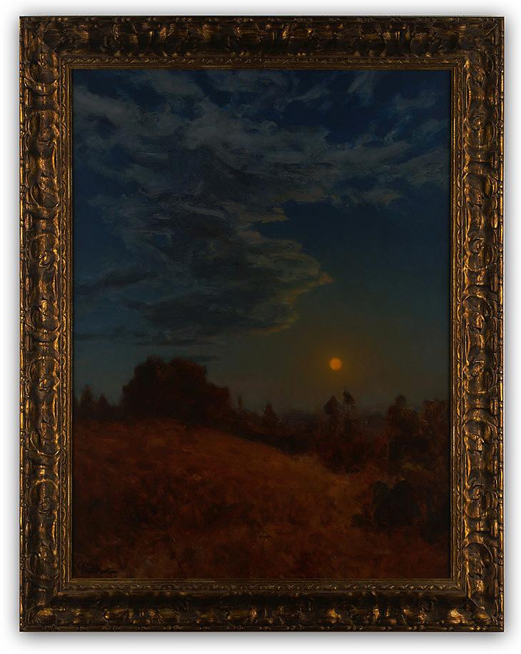 Auburn Moon, by Matthew Joseph Peak